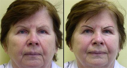 Особенности возрастного перманентного макияжа